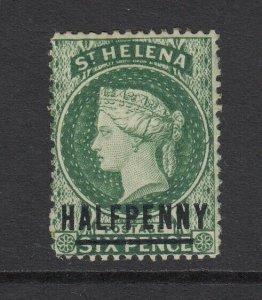 St. Helena, SG 35x, MHR Watermark Reversed variety