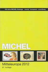Michel Mitteleuropa 2012, Band 2, listings for 10 Central European Countries