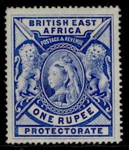 BRITISH EAST AFRICA QV SG92b, 1r dull blue, M MINT. Cat £550.