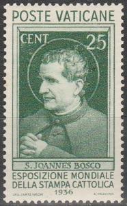 Vatican City #49 F-VF Unused  CV $45.00 (S6713)