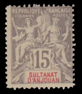 Anjouan 8 MNH