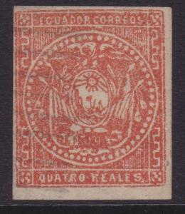 ECUADOR An old forgery of a classic stamp...................................5561