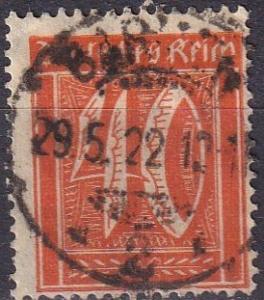 Germany #142 F-VF Used (SU7653)