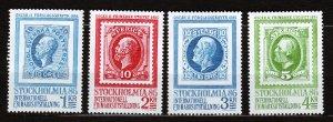 J23074 JLstamps 1983 sweden mnh set #1462-5 stamps