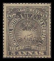 British East Africa 45 Mint F-VF sm HR