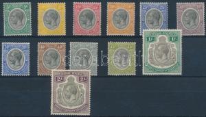 Tanganyika stamp Definitive set 13 values Hinged 1927 Mi 82-93 WS196811