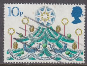 Great Britain 928 Traditional Christmas Trees 1980