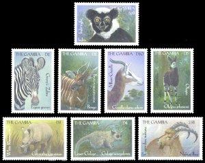 Gambia 2000 Scott #2184-2191 Mint Never Hinged