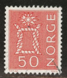 Norway Scott 424 Used 1962 stamp