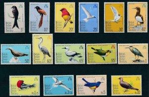 [17413] British Indian Ocean Territory 1975 Birds vögel oiseaux tern booby  MNH