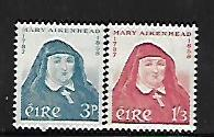 IRELAND, 167-168, MNH, MARY AIKENHEAD