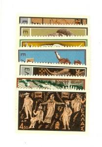Greece Scott 649-655 NH    [ID#427199]