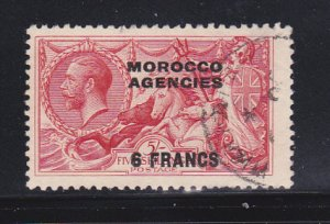 Great Britain Offices in Morocco 419 U Overprint