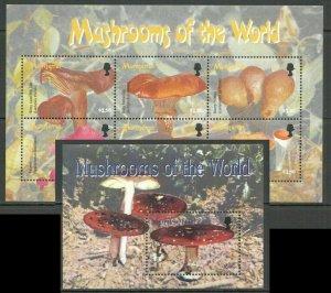 Montserrat mushrooms  klb+s/s MNH