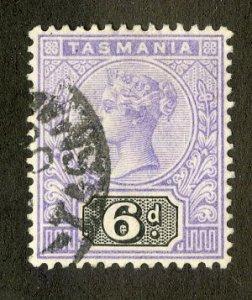 RK36305 TASMANIA 79 VF USED SCV $7.25 BIN $4.00