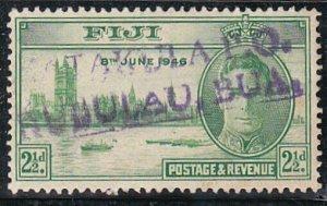 FIJI c1946 2½d Victory - scarce MATAKULA PO straight line cancel...........A556