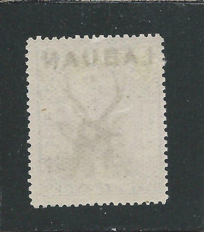 LABUAN 1897 2c BLUE PERF 14½-15 MM SG 90c CAT £40