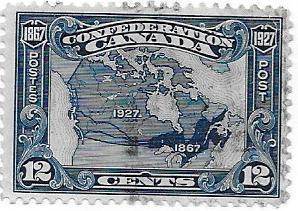 Canada  Scott 145  Used