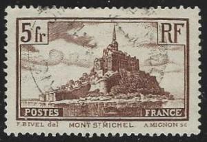 France #249 Used Die I (U10)