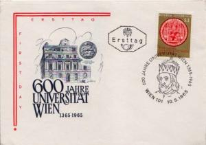 Austria, First Day Cover, Religion