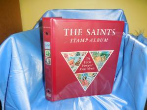 Gibbons The Saints binder