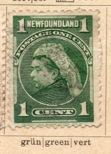 Newfoundland 1897-98 Early Issue Fine Used 1c. NW-11938
