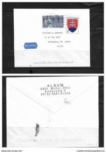 O) 1993 SLOVAKIA, ST JOHN NEPOMUK SCOTT 158, ARMS SCOTT 150, AIRMAIL- ALBUM RNDR