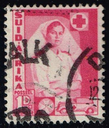 South Africa #82b Nurse and Ambulance; Used (0.25)