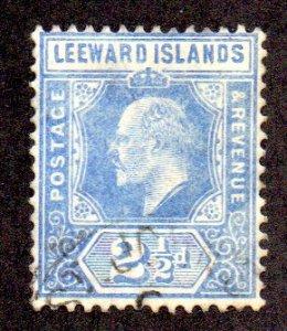 LEEWARD ISLANDS 45 USED SCV $4.50 BIN $1.80 ROYALTY