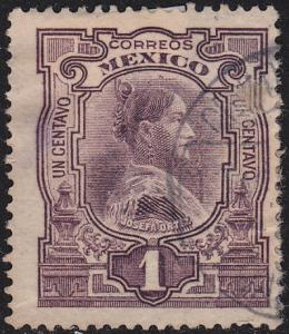 Mexico 310 Hinged Used 1910 Josefa Ortiz
