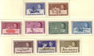 British Antarctic Territory  #1-9 (M) CV $24.05
