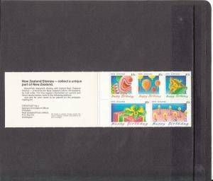 NEW ZEALAND 1032a MNH COMPLETE BOOKLET 2014 SCOTT CATALOGUE VALUE $6.00