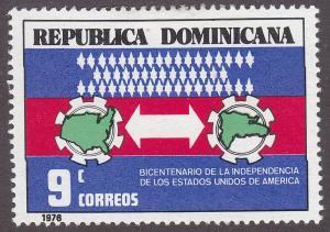 Dominican Republic 766  American Bicentennial 1976