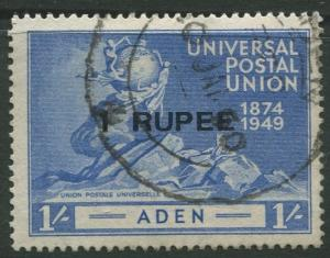 STAMP STATION PERTH Aden #35 UPU Issue 1949 Used CV$3.00.