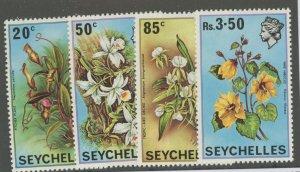 Seychelles 280-3 * mint NH flowers (2110 17)