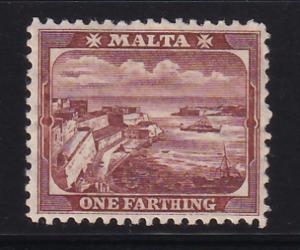 MALTA 1/4d 1901 Sc. # 19a MNH (566-3)