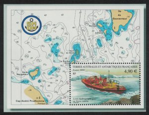 FSAT TAAF Hydrographic surveys MS SG#MS528 MI#Block 12