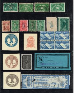 US STAMP BOB REVENUE STAMPS COLLECTION LOT #T1