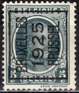 Belgium; 1922: Sc. # 147; O/Used Precancel Single Stamp