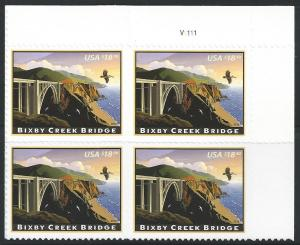 US #4439 $18.30 American Landmarks - Bixby Creek Bridge, California