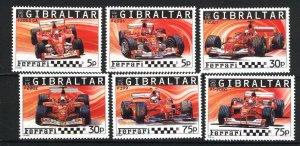 Gibraltar 993-998   M NH VF  PD