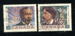 Can #1243-44    used VF 1989 PD