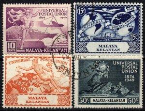 Malaya Kelantan #46-9   F-VF Used CV $12.65  (X1331)