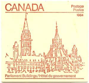 Canada - 1984 32c Pane of 25 Complete Booklet #85b