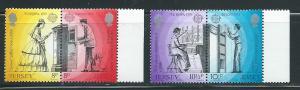 Jersey 202-5 1979 Europa set MNH