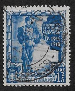 ITALY SC# 406 FVF/U 1938