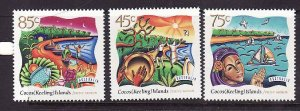 Cocos (Keeling) Is.-Sc#323-5-unused NH set-Festive Season-1996-