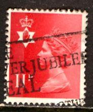 Great Britain, Regional, North. Ireland; 1976: Sc. # NIMH15: O/Used Single Stamp