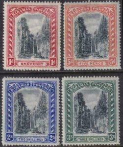 Bahamas 1901-1903 SC 33-36 Mint Set