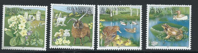 Isle of Man MUH SG 730 - 733